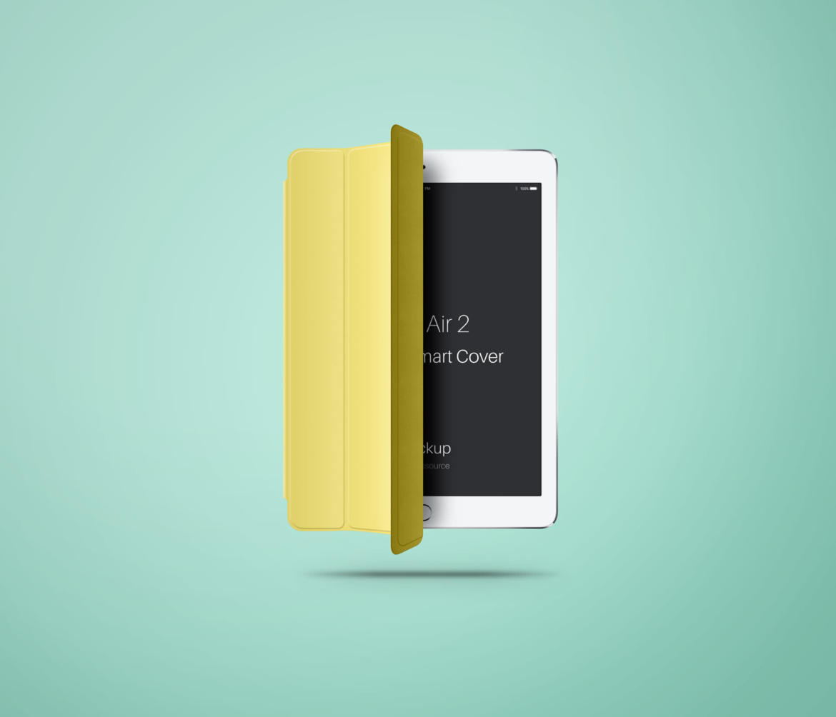 iPad Air with Smartcover