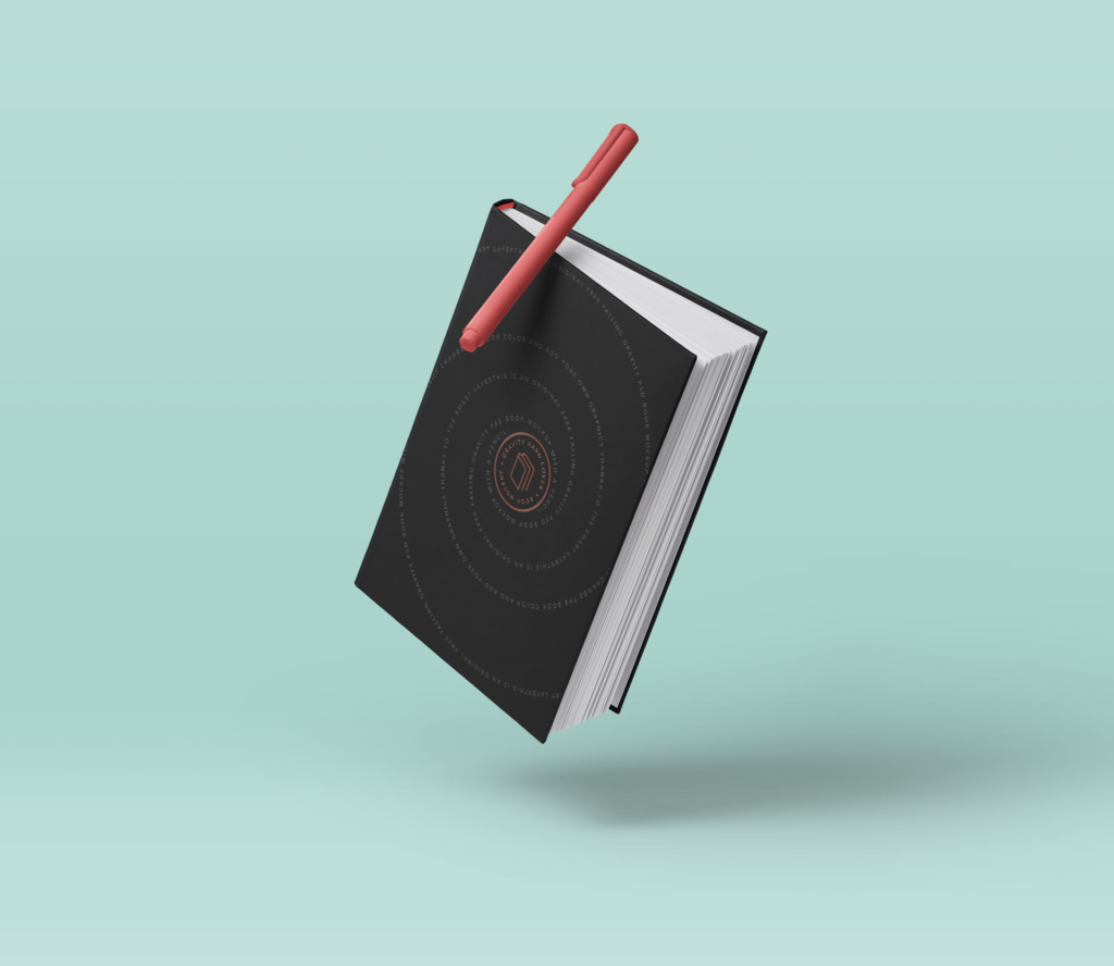 Book with Pen